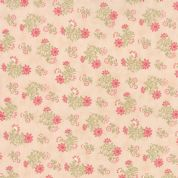 Moda Whitewashed Cottage by 3 Sisters - 3754 - Pink Small Floral - 44066 12 - Cotton Fabric